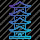 asia, building, china, landmark, monument, monuments, pagoda