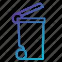 basket, bin, garbage, interface, miscellaneous, tools, trash