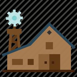 architecture, barn, buildings, estate, farm, gardening, real icon