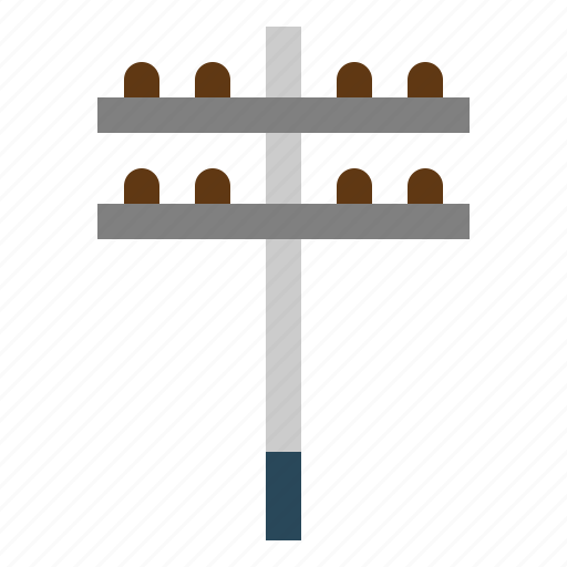 architecture, city, electrical, electronics, post, tools icon