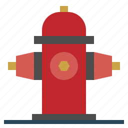 and, architecture, city, extinguish, firefighter, firefighting, hydrant icon