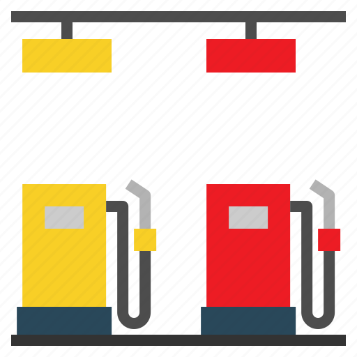 energy, fuel, gas, gasoline, industry, petrol, station icon