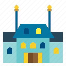 buildings, home, house, mansion, real, rent, rental icon