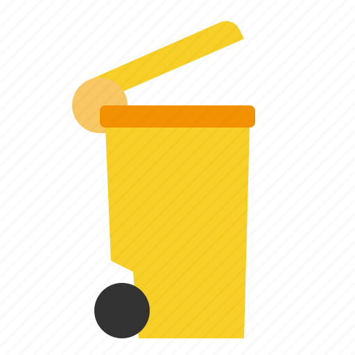 basket, bin, can, garbage, interface, miscellaneous, trash icon