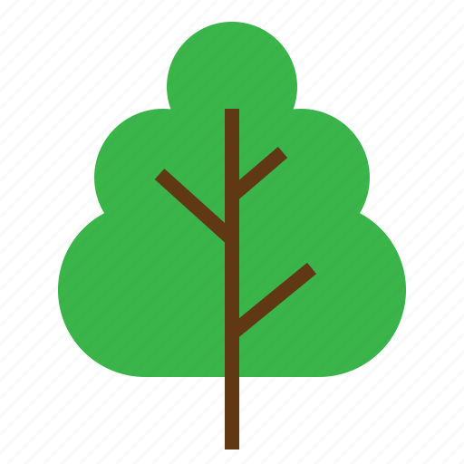 clouds, forest, landscape, nature, tree, woods icon