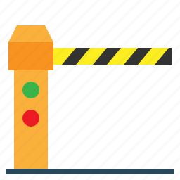 barrier, barriers, road, secure, security, stop, toll icon