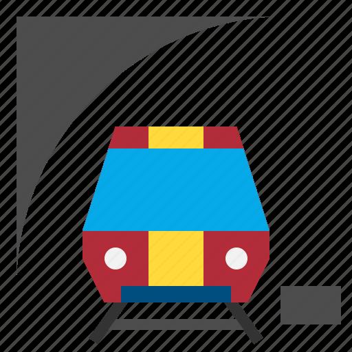 Transportation, train, subway, railway, public, transport icon