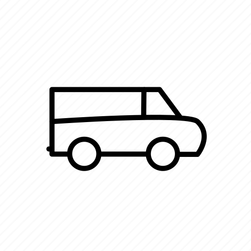 car, delivery, traffic, transport, truck, van, vehicle icon