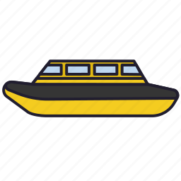 aquabus, boat, ship, urban transport, water, water transport icon