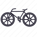 bicycle, bike, cycle, transport, urban transport, vehicle, wheel icon