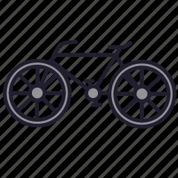 bicycle, bike, cycle, transport, urban transport, vehicle, wheel icon