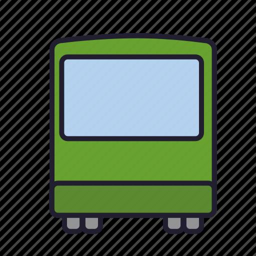 bus, omnibus, public, transport, transportation, urban transport, vehicle icon