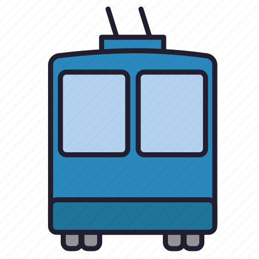 road, trackless trolley, traffic, transport, trolley, trolleybus1, urban transport icon