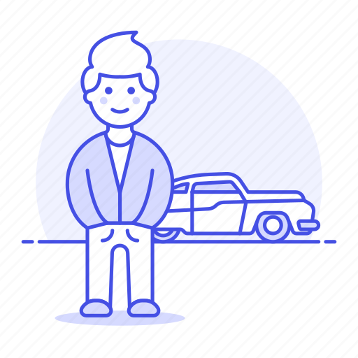1, automobile, car, cool, driver, guy, luxury, male, sports, transport, tribes, urban, vehicle icon