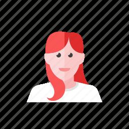 urban, woman icon