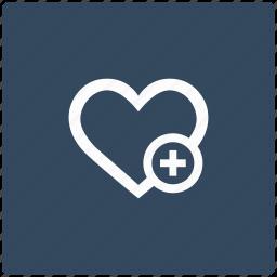 add, heart, like, love, operation icon