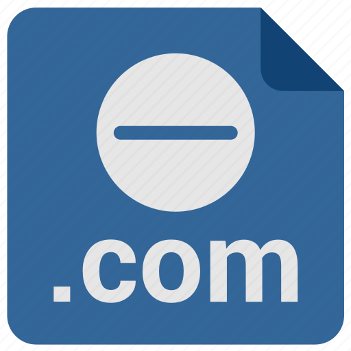 com, domain, link, minus, url icon