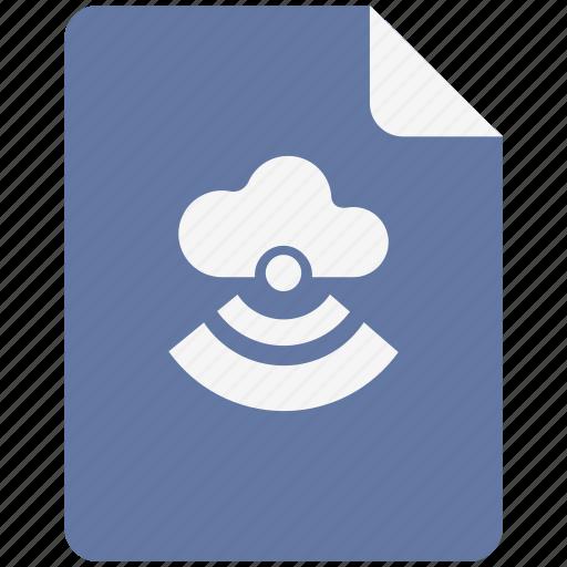 Access, cloud, internet, vpn icon
