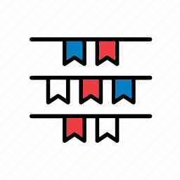 american, elections, politics, presidential, states, united icon