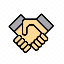 agreement, business, deal, hand, hands, handshake icon