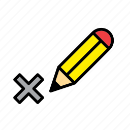 cross, election, elections, mark, pencil, politics, vote icon