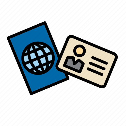 Card, id, identification, identity, passport icon - Download on Iconfinder