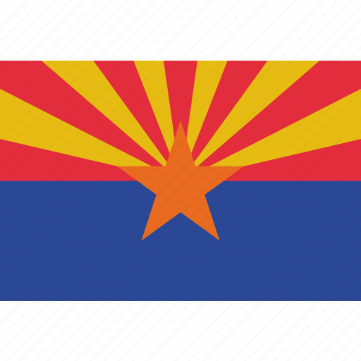 Arizona, flag, state, us icon - Download on Iconfinder