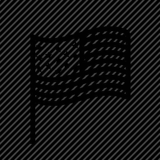 Flag, usa icon - Download on Iconfinder on Iconfinder