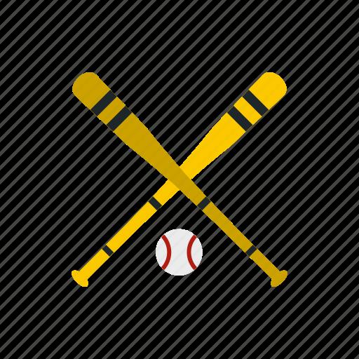 ball, baseball, bat, eague, play, sport, wood icon
