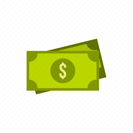 american, cash, currency, dollar, finance, money, paper icon