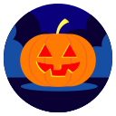 pumpkin, night, october, halloween