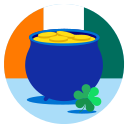clover, day, holiday, irish, luck, saint patrick, st patricks icon