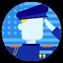 american, memorial, military, patriotic, soldier, veteran, veterans day icon