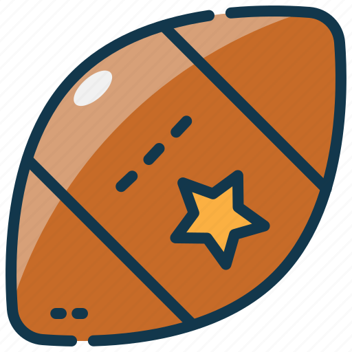 america, football, rugby, sports, state, united, usa icon