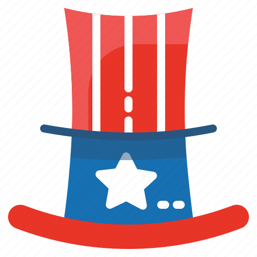 hat, state, united, usa icon