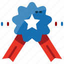 medal, reward, star, state, united, usa