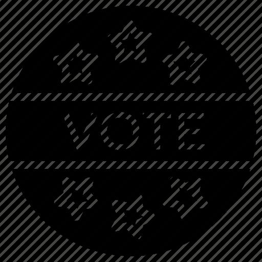 american badge, american politics, election badge, politics symbol, usa politics icon