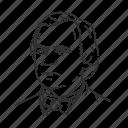 andrew johnson, president, seventeenth president, usa icon