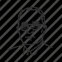 harry trauman, president, thirty third president, usa icon