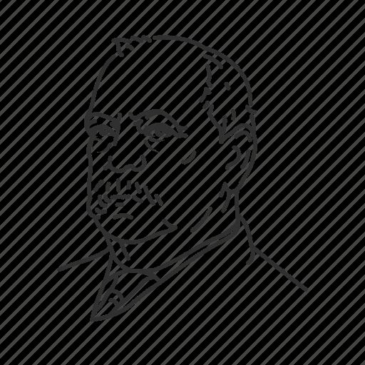 grover cleveland, president, twenty second president, usa icon