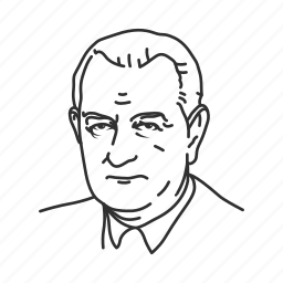 lyndon b. johnson, president, thirty sixth president, usa icon