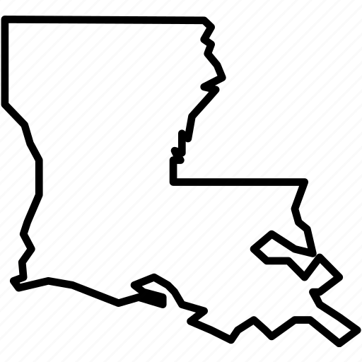 america, city, federal, louisiana, neworleans, republic, state icon