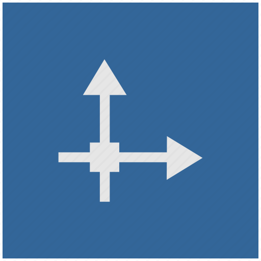 axis, blue, deep, grid, math, square icon