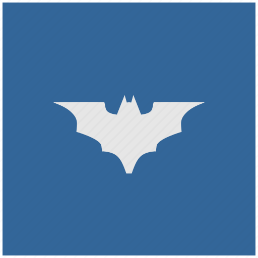 bat, batman, blue, deep, square, vampire icon