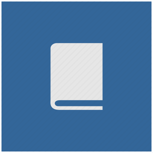 bible, blue, book, deep, glassary, square icon