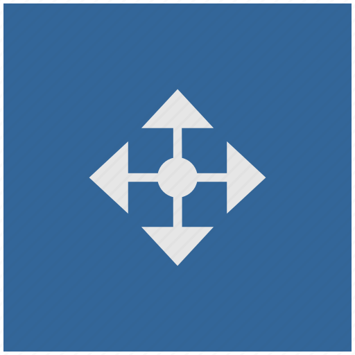 blue, cursor, deep, drag, drop, square icon