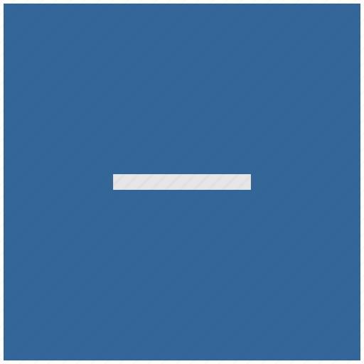 blue, cut, deep, erase, minus, square icon