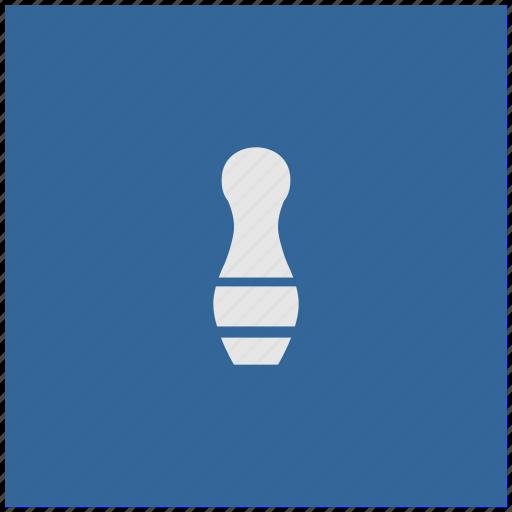 blue, deep, game, kegel, square icon