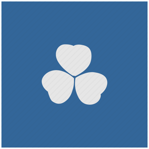 blue, deep, ireland, leaf, nature, square icon