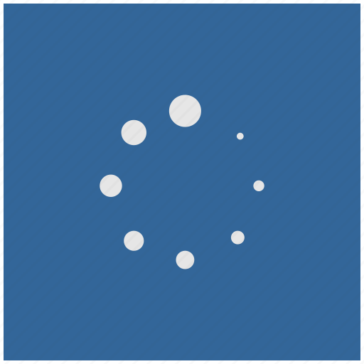 blue, deep, load, loading, scale, square icon